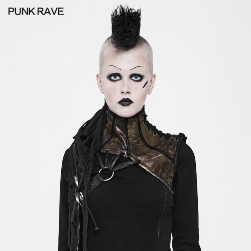 PUNK RAVE steampunk Personalities collar WS-260