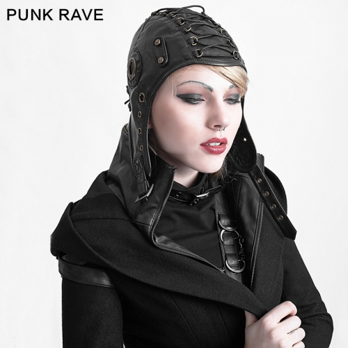 PUNK RAVE Woman Pilot Hat Locomotives Cap S-163
