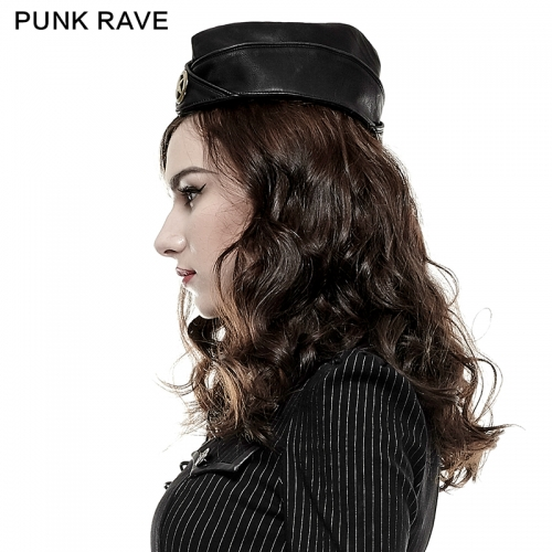 PUNK RAVE Woman Military Uniform Hat S-181