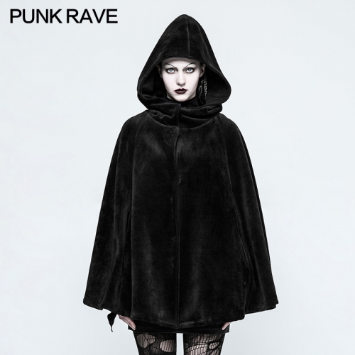 PUNK RAVE Gothic witch heavy cloak OPY-214