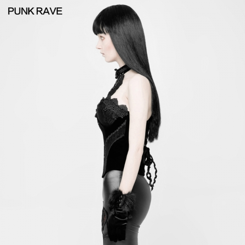 PUNK RAVE  sexy women lace corsets WY-888