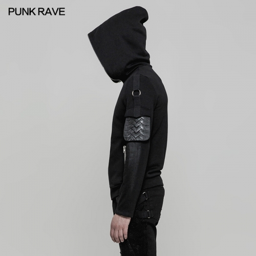 PUNK RAVE black man hoodies sweater OY-869