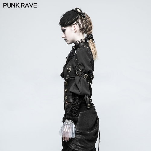PUNK RAVE women  coffee belt S-216