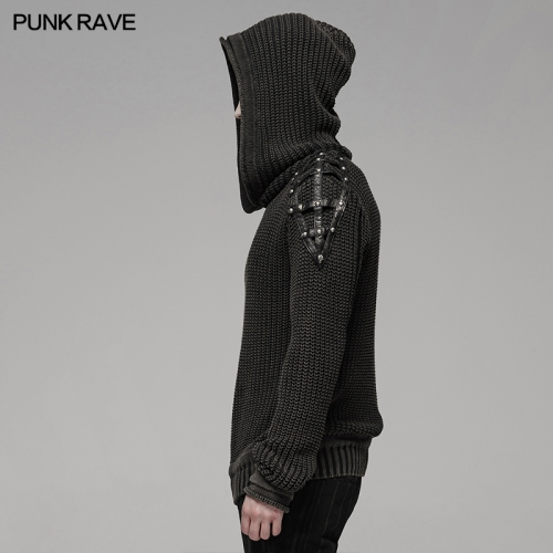 PUNK RAVE men sweater WM-052TMM
