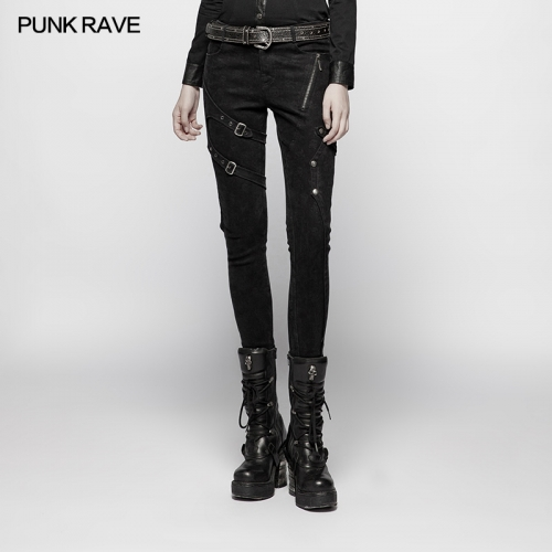 PUNK RAVE women trousers WK-355XCF