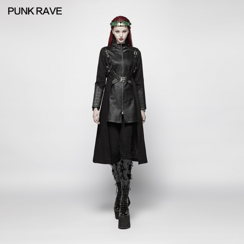 PUNK RAVE women leisure jacket WY-974XCF