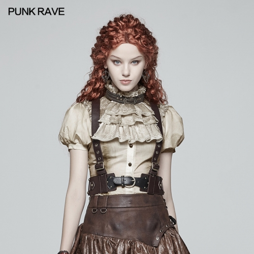 PUNK RAVE women Vest Accessories WS-282BDF