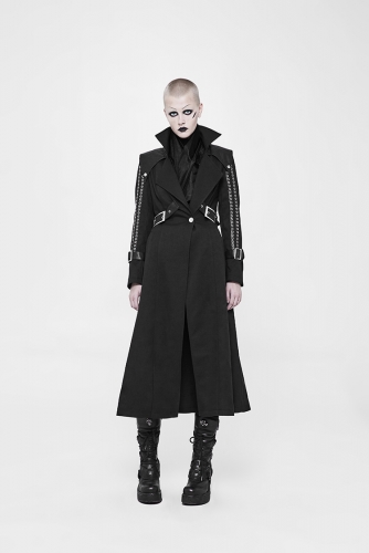PUNK RAVE Punk Handsome Long Coat WY-887XCF