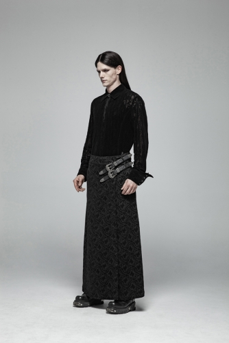 PUNK RAVE fashion Gothic gorgeous Personality Long Skirts mens dress pants WQ-403BQM