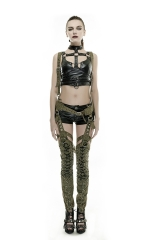 PUNK RAVE Rivets Do Old Military Uniform Pant Leg K-253