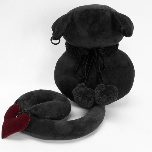 Gothic Faceless Black Cat Toy JG-001ZH