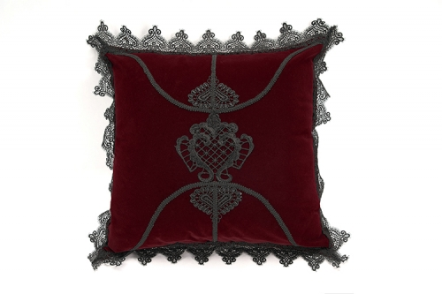 JZ-002FZ Gothic decal hold pillow cushion